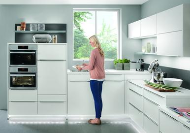 Bekannt Ergonomische Planung der Arbeitshöhen und Arbeitsbereiche in der Küche FV23