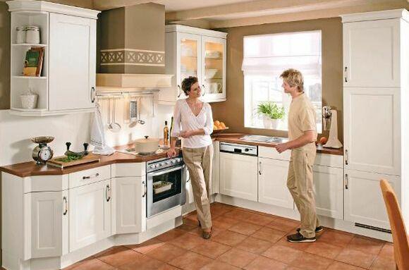 Gut gemocht Landhausküche: Merkmale & Gestaltungsmöglichkeiten DW89