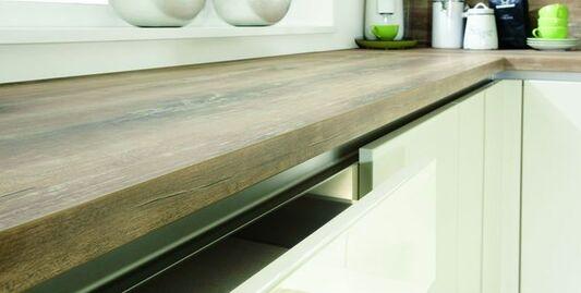 Küchenarbeitsplatte in Holz-Optik: klassisch, modern oder ...