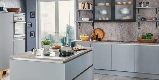 Granit-Arbeitsplatte aus Naturstein oder Kunststoff ...