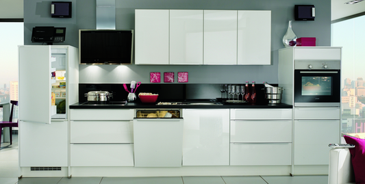 Küchenzeile Mit Kühlschrank Herd Weiteren Geräten Günstig